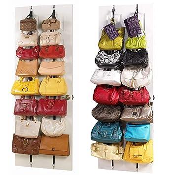 ACCOCO 2-pack puerta colgante bolso / monedero organizador, sostenedor del monedero, suspensión del monedero, organizador del bolso para el armario ...