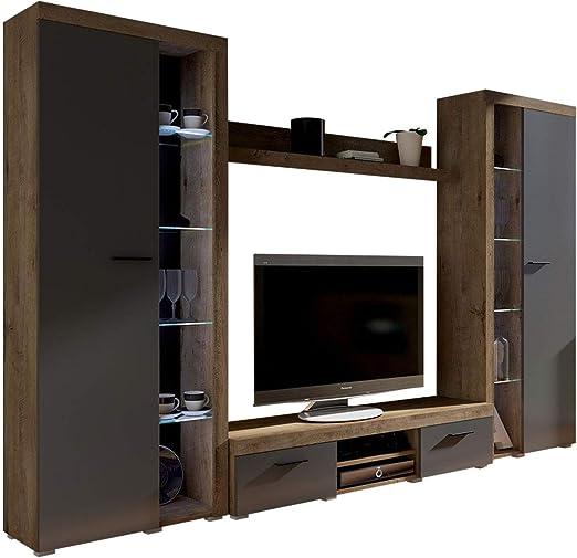 Mirjan24 Mueble de salón Rango XL, Moderno Juego de salón, diseño ...