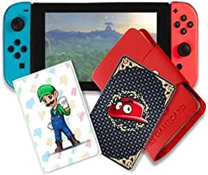 Amiibo NFC Card Super Mario Odyssey 5 Pcs for Nintendo Switch and Wii U
