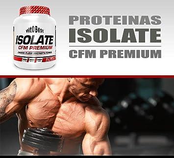 Proteína ISOLATE CFM PREMIUM - 4 lb, Limón: Amazon.es: Salud ...