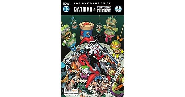 Amazon.com: AVENTURAS DE BATMAN Y LAS TORTUGAS NINJA 02 (17 ...