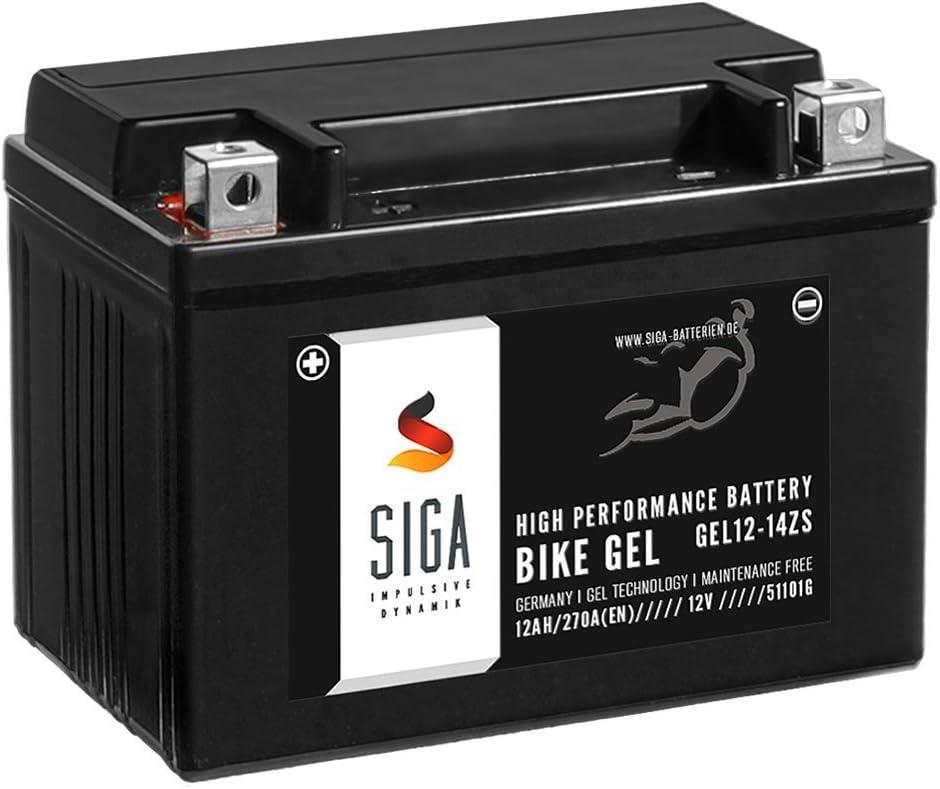 Siga Gel Motorradbatterie 12v 12ah 270a En Gel Batterie Ytz14 S