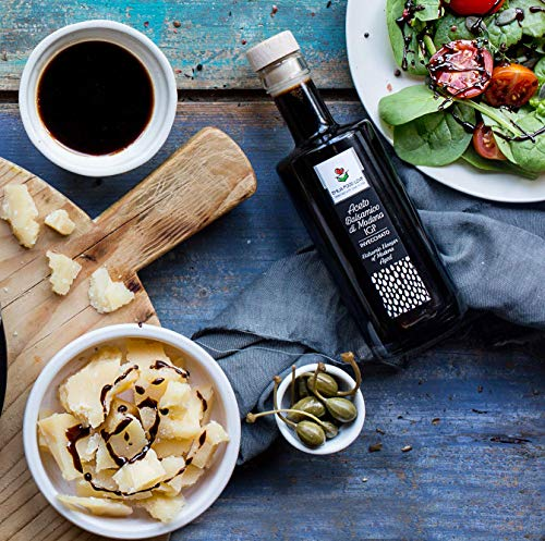 Balsamic Vinegar of Modena IGP AGED - Made in Italy - EMILIA FOOD LOVE - Selected with Love in Italy - Aceto Balsamico di Modena IGP Invecchiato by EMILIA FOOD LOVE (Image #1)