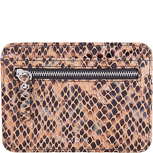 Lodis RFID Slim Leather Card Case, snake