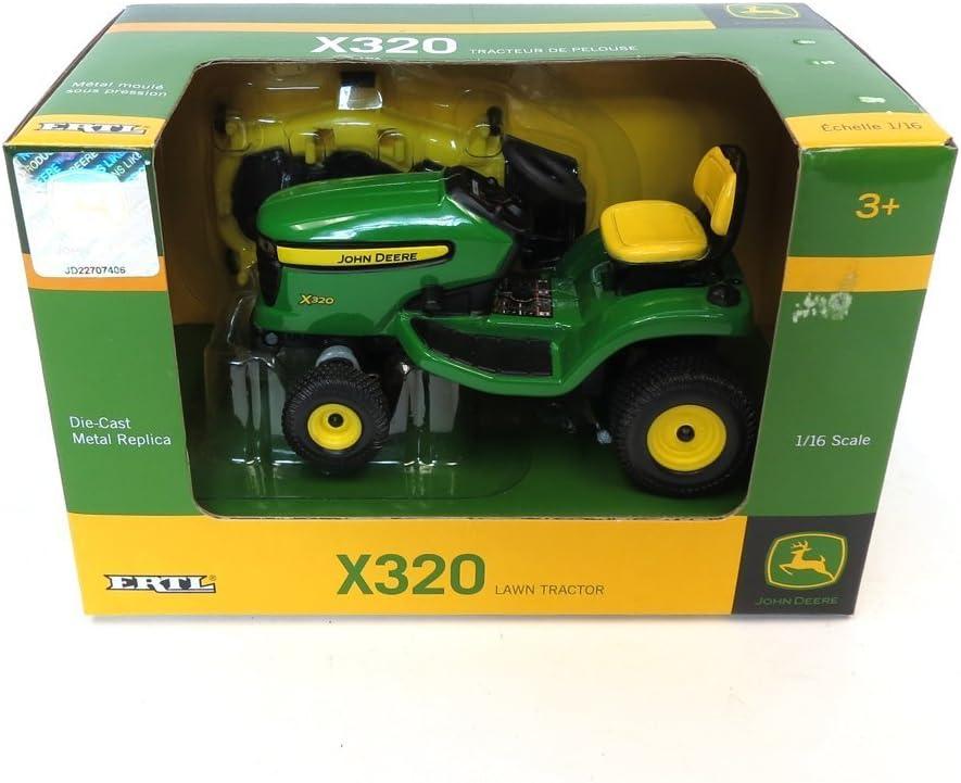 Amazon.com: Ertl John Deere 1/16X320 tractor ...