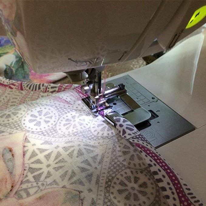 TAOtTAO - 3 piezas de prensatelas de presión para máquina de coser Singer Brother adaptador de vástago bajo: Amazon.es: Hogar
