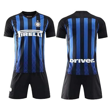 b0e8e38f ZZXYSY Inter Milan Men's Home Soccer Jersey/Short Colour Blue/Black ...