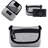 JJC Compact Camera Case Travel Case for Sony ZV-1 ZV1 RX100 VII RX100 VI RX100 VA RX100 IV RX100 III RX100 II W800 W830…