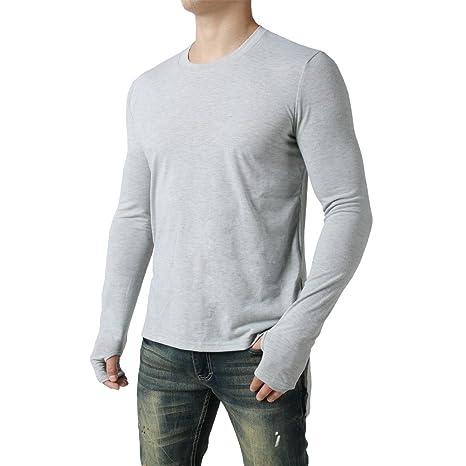 Hombre blusa manga larga Otoño,Sonnena ❤ Blusa manga larga para hombres de moda