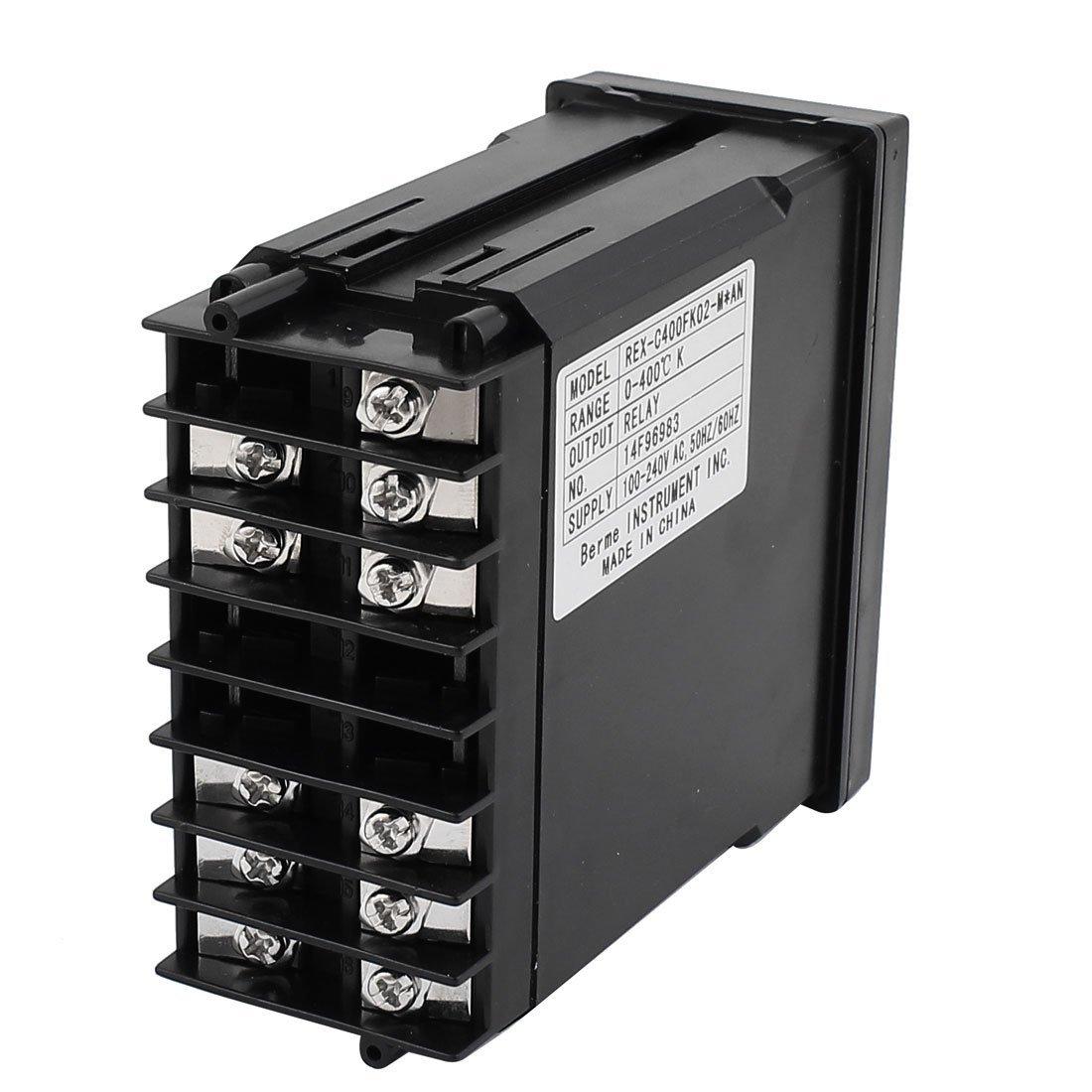 DealMux AC 110-220V LCD controlador de temperatura do termostato Sensor: Amazon.com: Industrial & Scientific