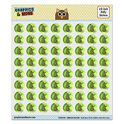 Puffy Bubble Dome Scrapbooking Crafting Stickers - Sloth Watercolor -