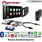 Volunteer Audio Pioneer AVH-1300NEX Double Din Radio Install Kit with Apple Carplay Bluetooth USB/AUX Fits 2009-2010 Ram 2011-2014 Chrysler 200
