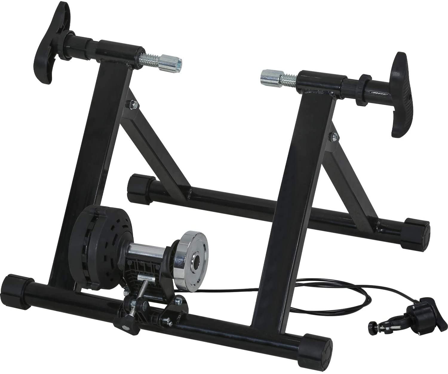 Magnetic Bicycle Bike Trainer Indoor Stationary Exercise Stand Steel Frame MTB