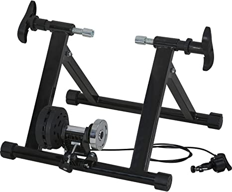FDW Bike Trainer Stand Magnetic Bike Trainer with 5 Levels Resistance