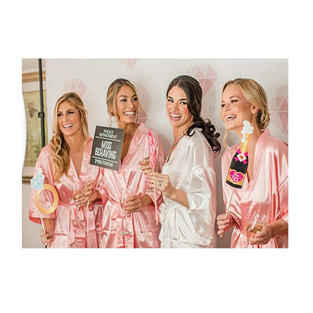 Kimono Mujer Batas,Morbuy Camis/ón de la Boda para el camis/ón Nupcial de la Novia del Partido Nupcial