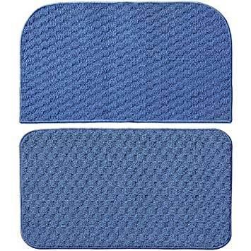 Town Square Kitchen Rug Slice And Mat, 18u0026quot; X 28u0026quot;, ...