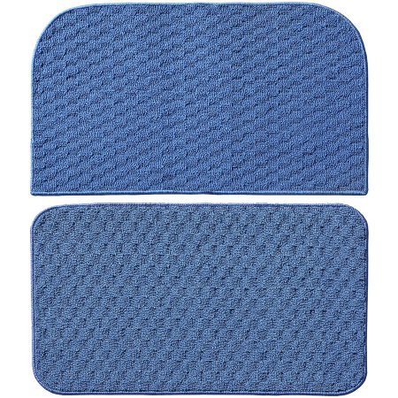 Town Square Kitchen Rug Slice and Mat, 18