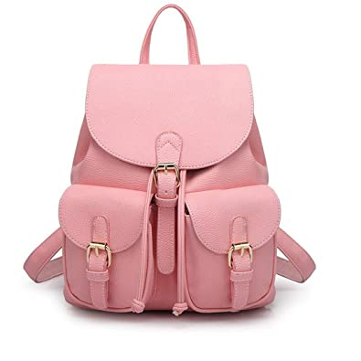 Redlicchi Cute Mini PU Leather Backpack Fashion Small Daypacks Purse for  Girls and Women  Amazon.in  Shoes   Handbags 03db1c5b8af11