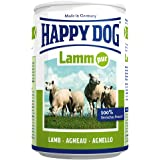 Happy Dog Wet Dog Food Pure Tinned Lamb, 400 g, Pack of 12