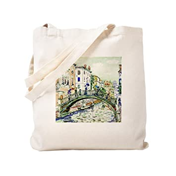 cdedbec734 Amazon.com  CafePress - Maurice Prendergast Little Bridge - Natural ...