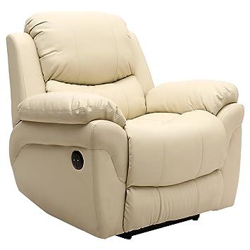 Wondrous Tm Black Seattle Electric Automatic Recliner Armchair Sofa Spiritservingveterans Wood Chair Design Ideas Spiritservingveteransorg