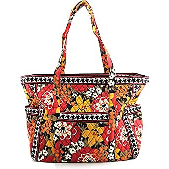 Vera Bradley Luggage Get Carried Away Tote Travel Tote Bittersweet