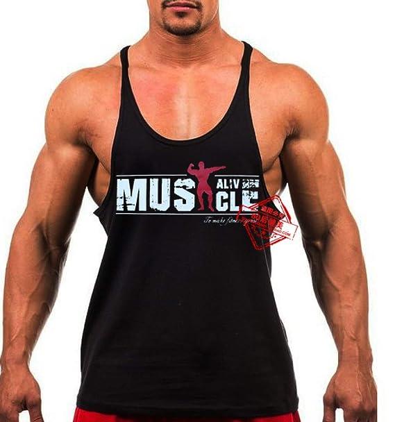 604e128a76f58 Amazon.com: WII FASHI Tank Tops for Men- Men Tank Top Thin Strap ...