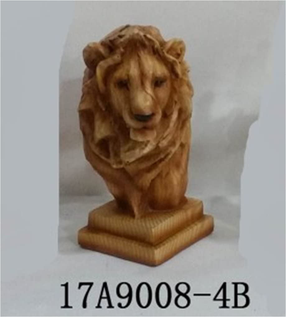 unison gifts MMH-457 4 INCH Lion Bust Multicolor