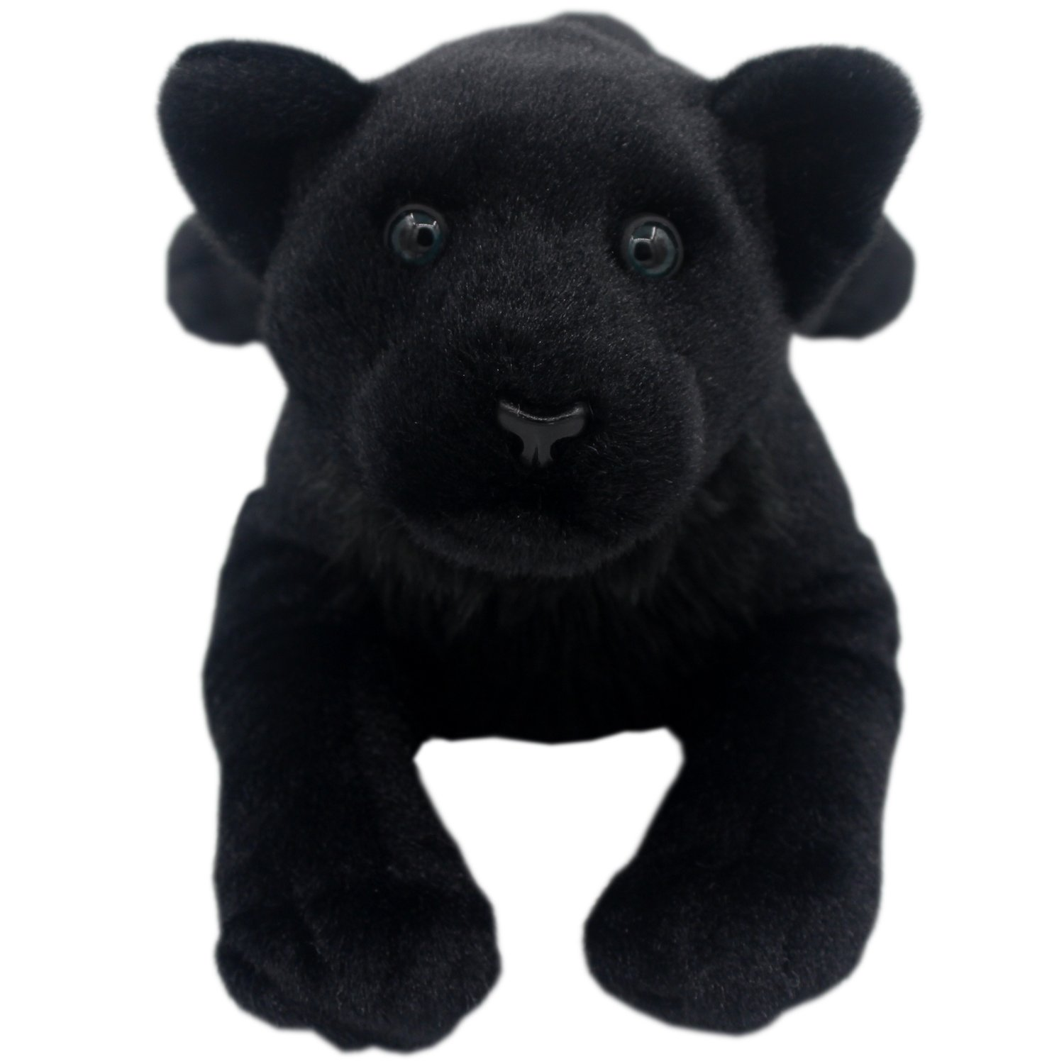 TAGLN Stuffed Animals Toys Panther Plush Lifelike Tiger Leopard Lioness Pillows (Black Panther, 24 Inch) by TAGLN