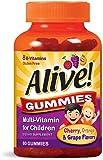Alive Multi-Vitamin Gummies for Children 60 Each (Pack of 6)