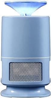 Anti-moustiques UV Artefact Noir Bleu Vert Rose Blanc Blanc 5W Ménage Intérieur Plug-in Type Mosquito Lampe Silent Protection Environnementale 100 * 200mm (Couleur : Bleu)