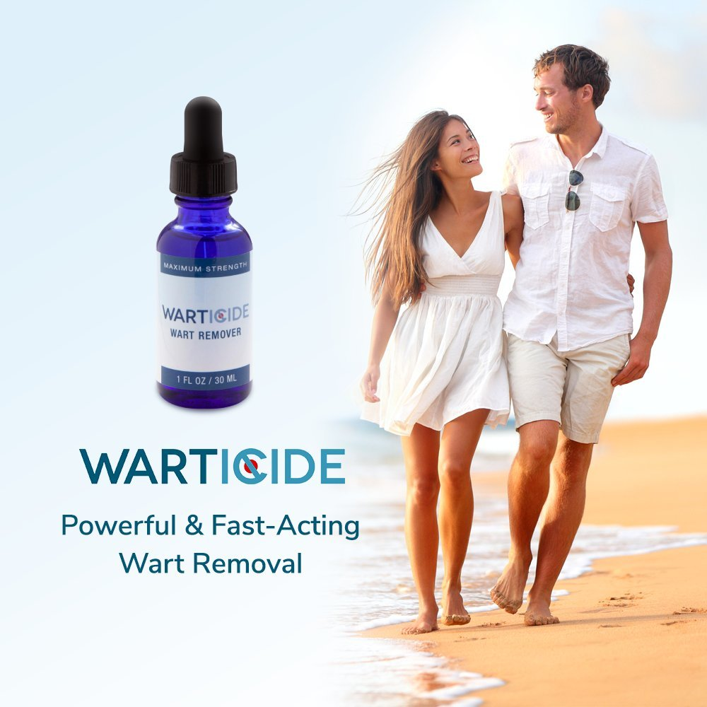 Warticide Fast-Acting Wart Remover, FDA Approved, Clinically Proven, Plantar and Genital Warts Treatment (2 Bottles) by Warticide (Image #7)