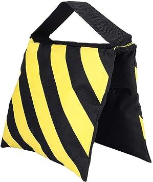 Mugast Weight Sandbag Portable Yellow /& Black Sandbag Weight Bags for Studio Video Light Stand Tripod