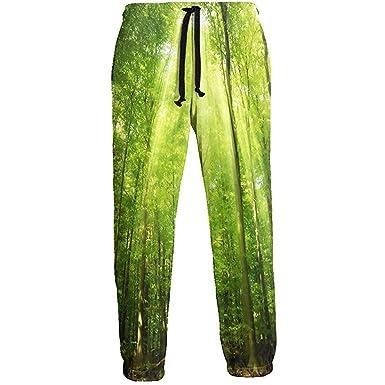 Emild Pantalones de chándal de Hombre Nature S Deep Forest ...