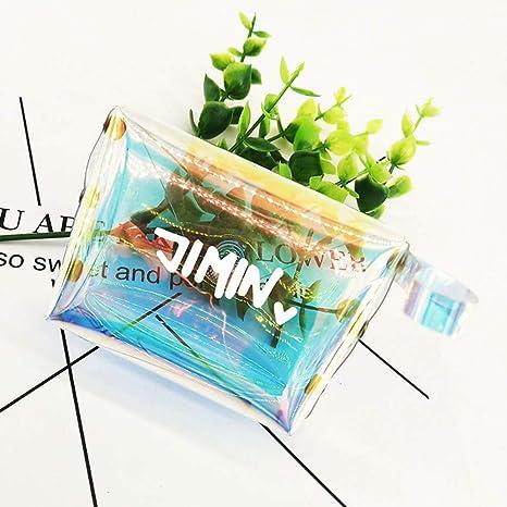KroY PecoeD Monederos transparentes de BTS, monederos de las ...