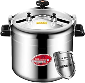 15L-100LAluminum alloy pressure cooker explosion-proof commercial large capacity super large extra large gas special large canteen hotel restaurant school pressure cooker