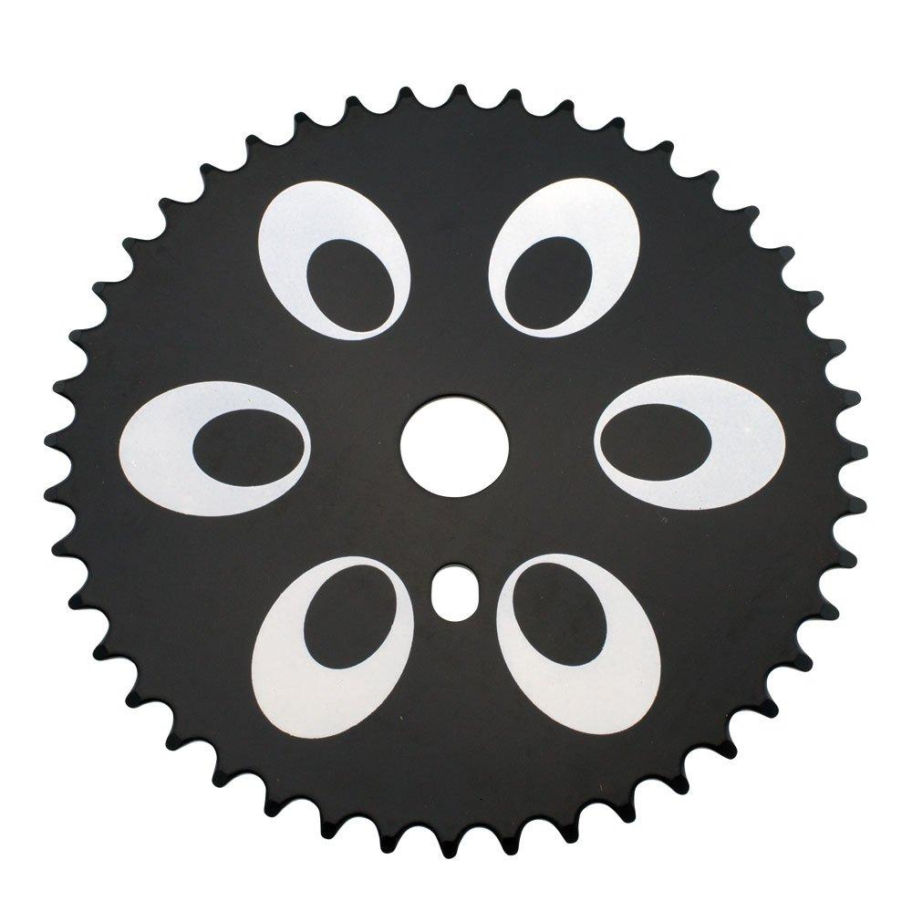 Mira Bike Chainring Bicycle Sprocket 44T 1//2 X 1//8 Black