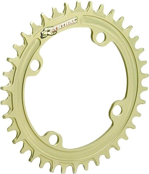"""36 T Renthal Cyclisme Vélo Chainring Flottabilité Appareil de contrôle 104 5//64/"""" 4 Bolt"""