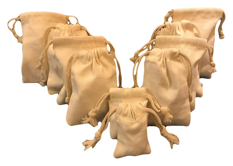 fc8926f66c78 Reusable Produce Eco Friendly 12x16 inches Cotton Canvas Double Drawstring  Muslin Bags Premium...