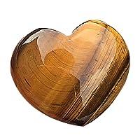Lecimo NUOVO regalo Crystal Rock Stone Quartz Point Mineral Sample(Tiger's-Eye)