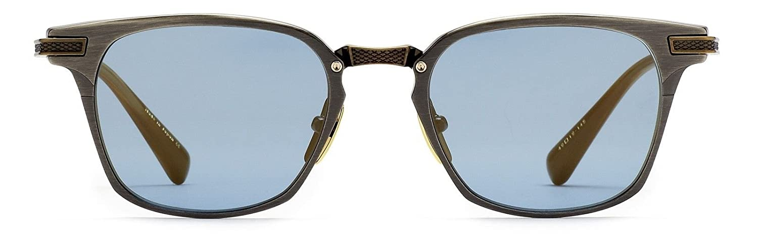 d5c55f53580 Amazon.com  Dita Union Drx 2068 C Antique Silver antique 18k Gold with Blue  Lenses  Clothing