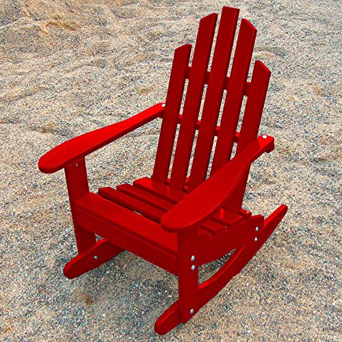 Prairie Leisure Junior Adirondack Rocking (Red Cedar Adirondack Rocking Chair)