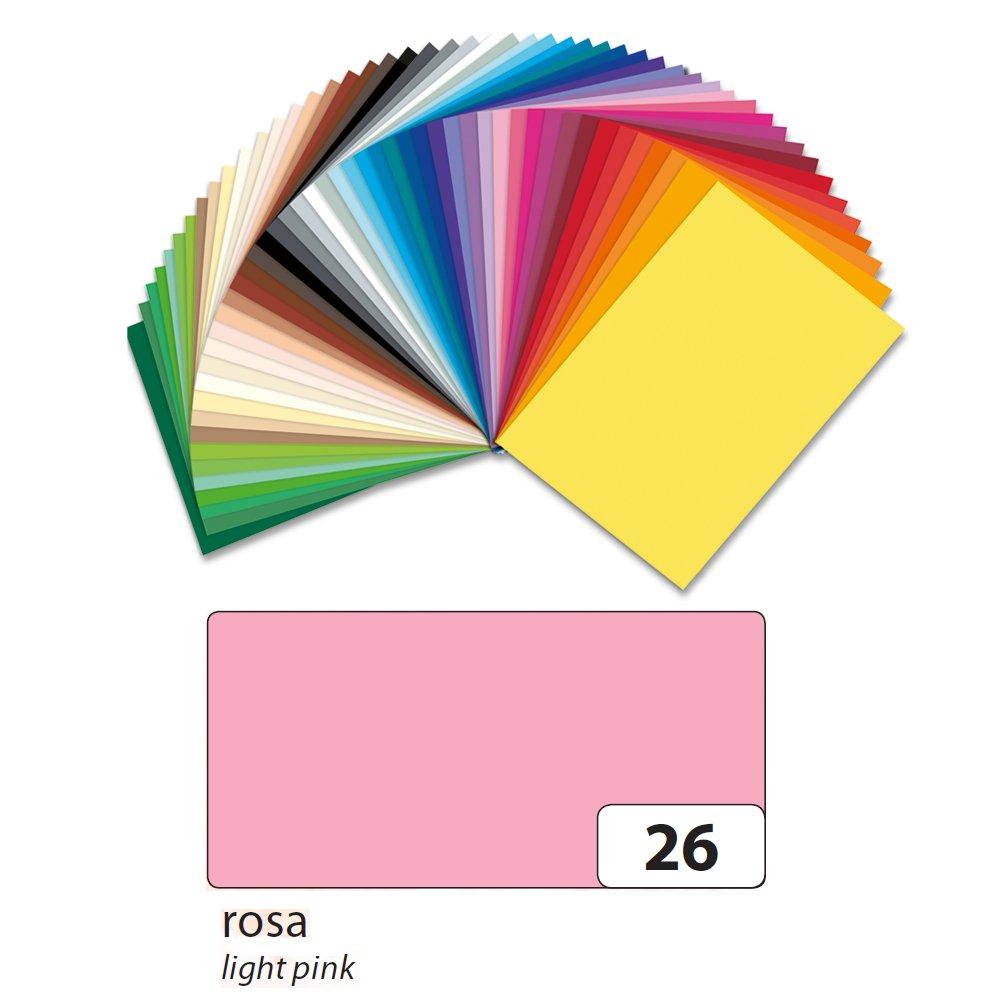 Folia Tonpapier 130g/qm, DIN A3, 50er Pack, Rosa 615563