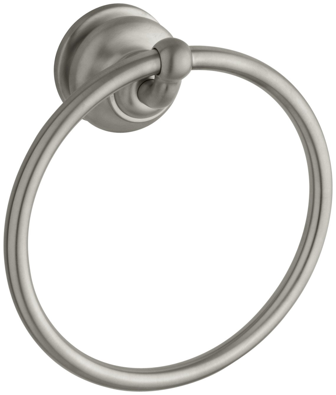 KOHLER K-12165-BN Fairfax Bathroom Towel Ring, Vibrant Brushed Nickel