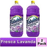 Fabuloso (FABUY) Pack Limpiador Líquido Fabuloso Lavanda 2l, 2 Piezas, color, 1 count, pack of/paquete de