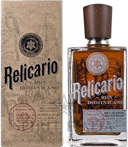 Relicario Ron Superiore GB 40,00% 0.7 l.: Amazon.es ...