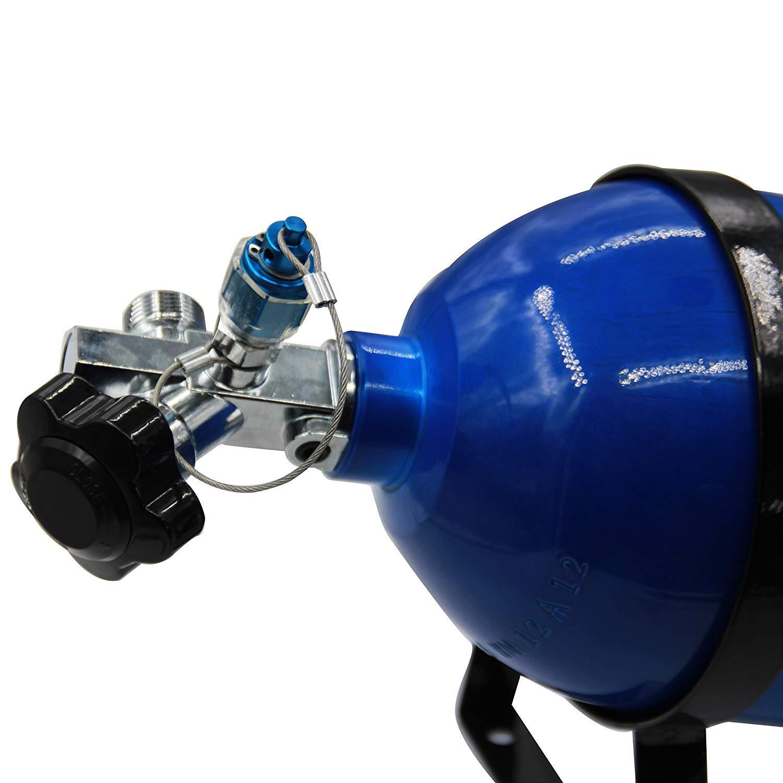 Dracary Nitrous Oxide Systems SUPER Hi-Flo Bottle Valve Work For NOS 16139 Black