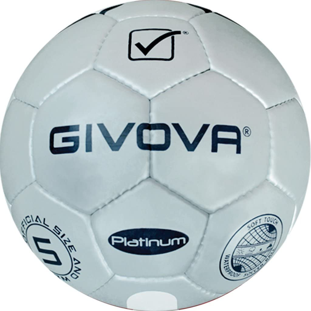 Danza de Vitrina Balón Platinum Givova fútbol, Silver/BLU, 3 ...