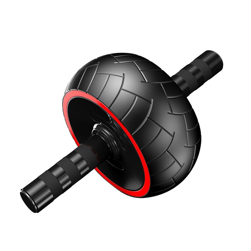 Bauchmuskeltraining Ausrüstung Hause Bauchmuskulatur Roller Fitness-Rad für Männer und Frauen (Farbe    1)