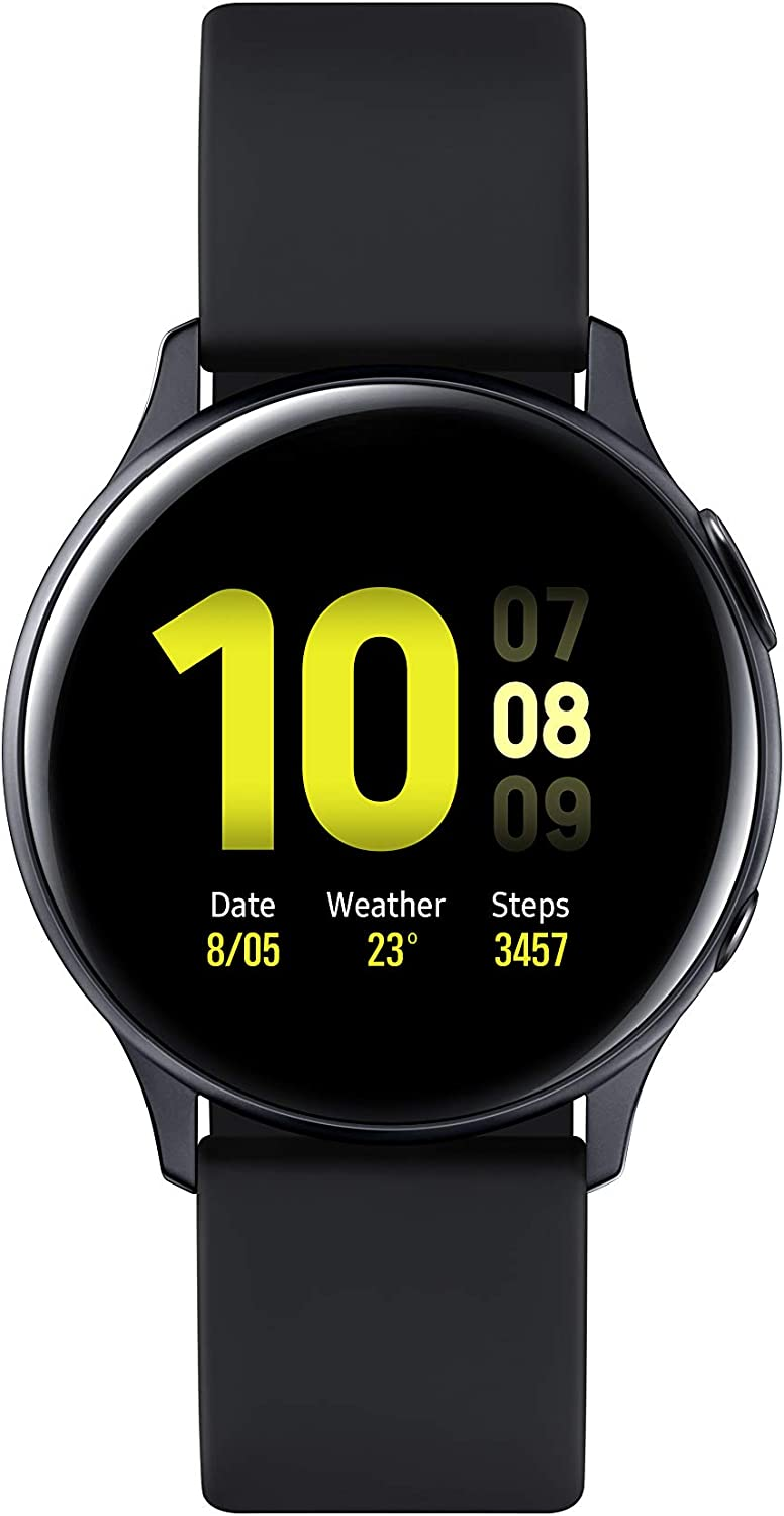 Samsung Galaxy Watch Active 2 - Smartwatch de Aluminio, 40mm, Color Negro, Bluetooth [Versión española]